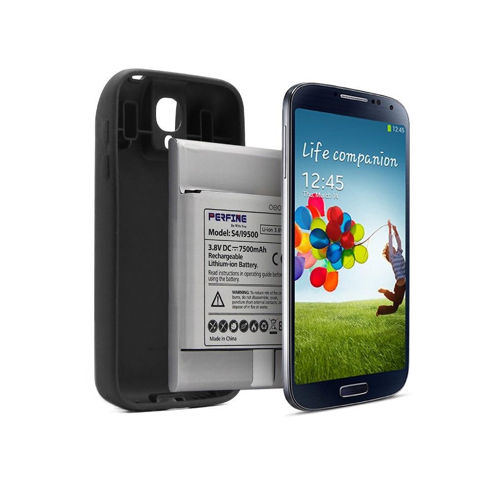 Батарея на 7500mAh для Samsung Galaxy S4 i9505 с NFC и кейсом