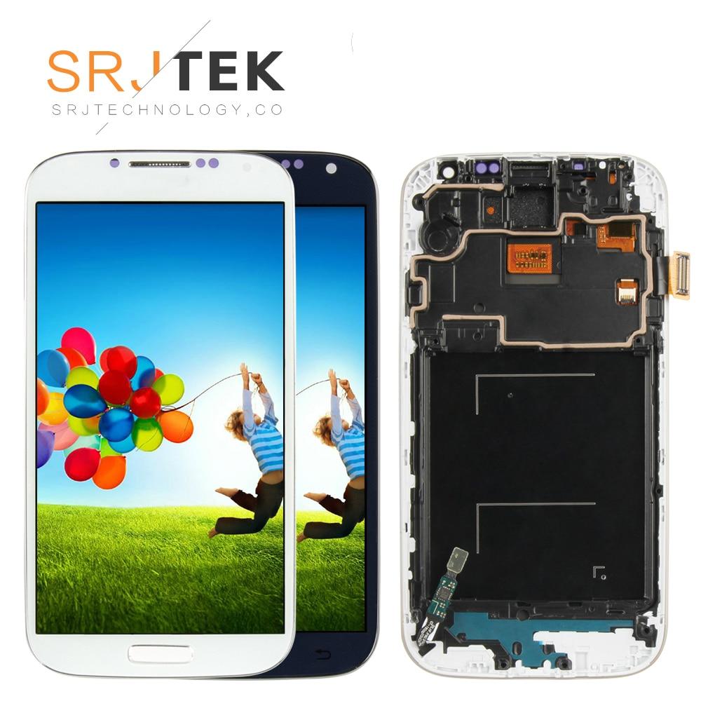 Дисплей для SAMSUNG Galaxy S4 с рамкой и тачскрином