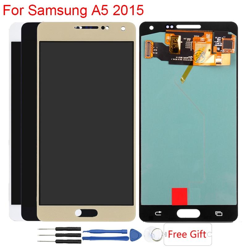 Дисплей Super AMOLED для Samsung Galaxy A5 A500F A500FU A500H