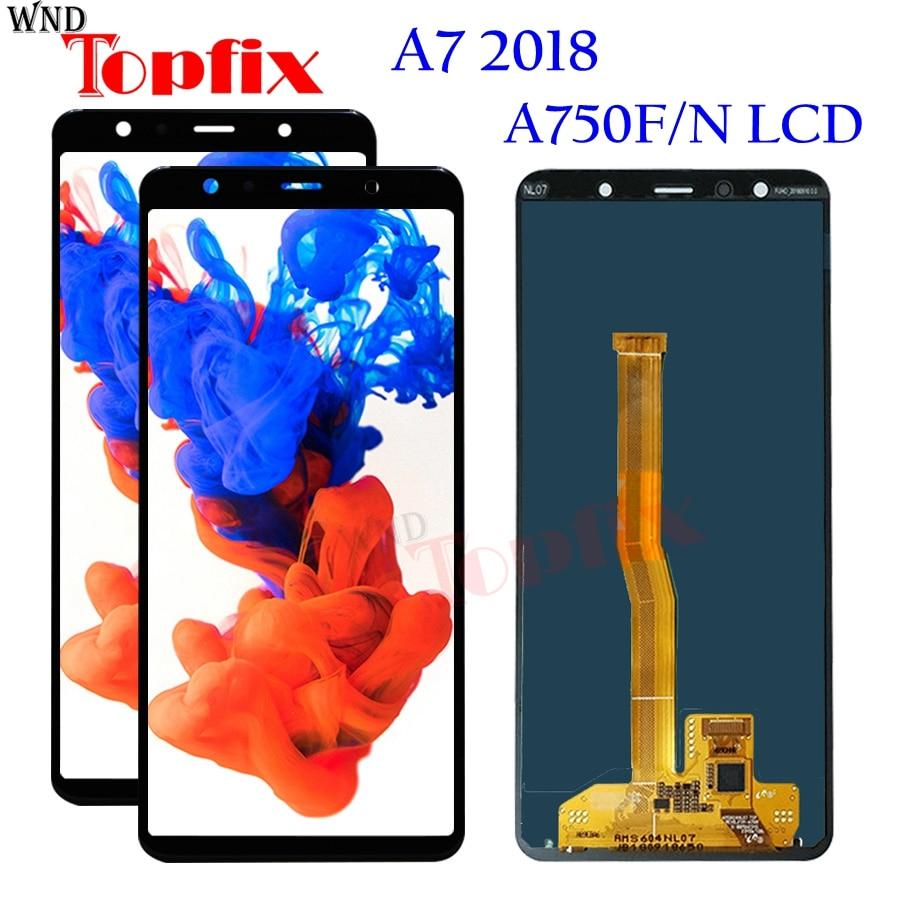 Экран для SAMSUNG GALAXY A7 2018 A750 A750F SM-A750F