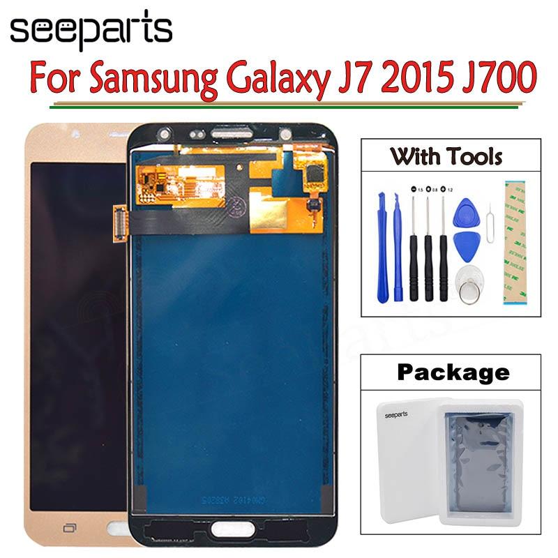 Экран на SAMSUNG GALAXY J7 2015 J700 J700F J700M J700H