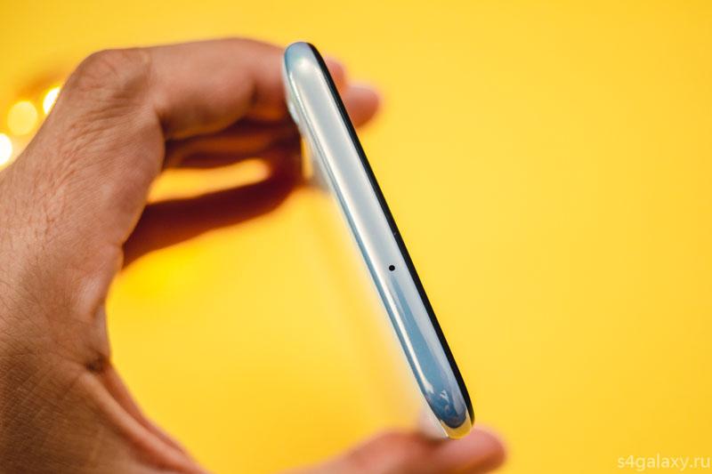 Samsung Galaxy A50 верхняя грань