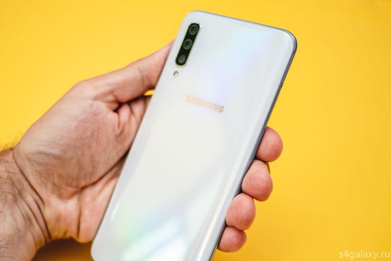 Samsung Galaxy A50 задняя панель