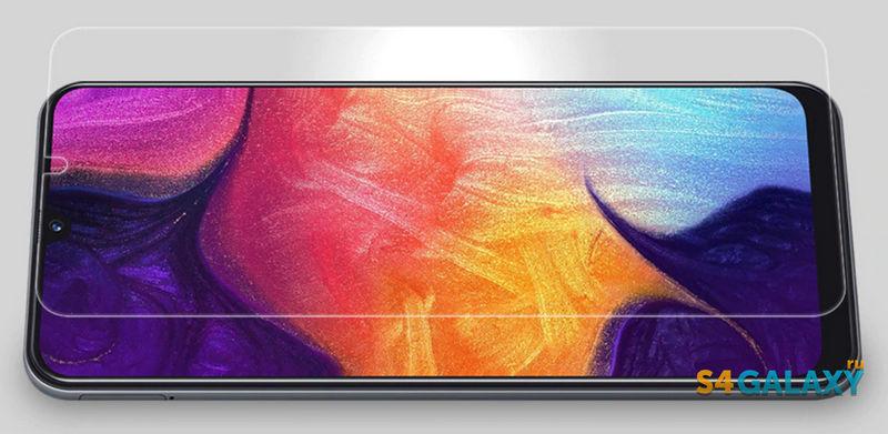 Samsung Galaxy A50 защитное стекло Ниллкин
