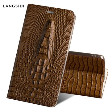 3 Flip Case для Galaxy A50 из натуральной кожи
