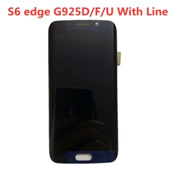 Дисплей на замену в Samsung Galaxy S6 Edge