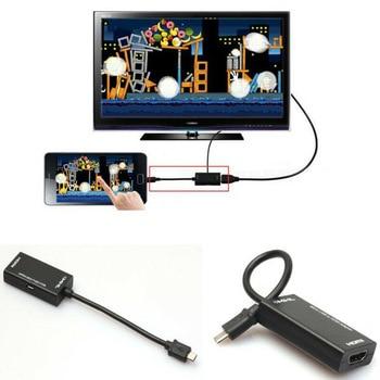 Mini Micro USB 2.0 MHL To HDMI кабель для Galaxy Note 2