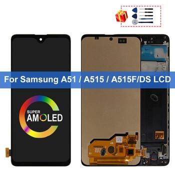 Super AMOLED дисплей для Samsung Galaxy A51 LCD A515F SM-A515F/DS