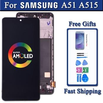 SUPER AMOLED дисплей с тачскрином для Галакси А51