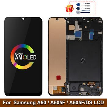 Super AMOLED экран для Samsung Galaxy A50 SM-A505FN/DS A505F/DS с рамкой